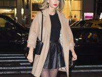Taylor Swift in collant disegnati: ecco le foto da non perdere!