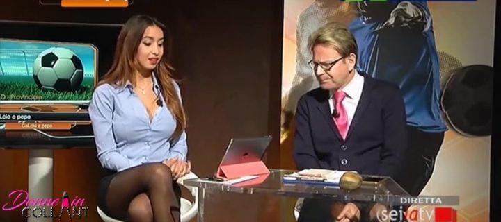 Alice Bertelli: come indossare i collant in TV ed essere sexy ma semplici