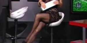 Elena Ossola: una bionda esplosiva in collant a Goal di Notte