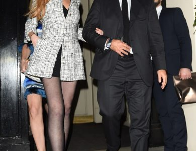 Lindsay Lohan In Collant: che gambe!!!