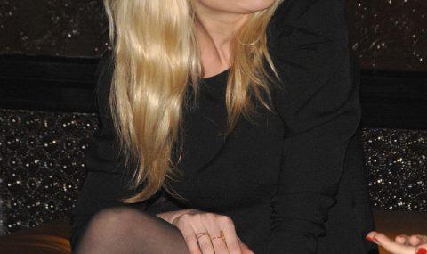 Kirsten Dust bellissima in Collant Neri