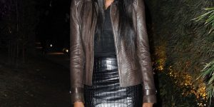 Naomi Campbell in collant neri a Milano: splendida come non mai