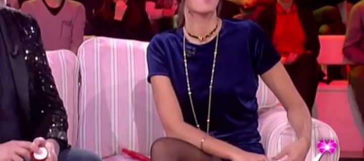 Caterina Balivo in Collant Neri: un video strepitoso