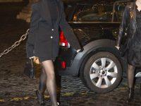 Dua Lipa in collant a Roma: tutte le foto