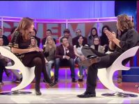 Caterina Balivo in collant neri: un video da impazzire