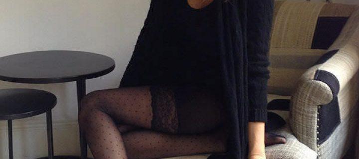 Alessia Marcuzzi in Collant: Foto incredibili