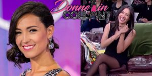 "Video di Caterina Balivo in collant neri, da ""Detto, Fatto"""