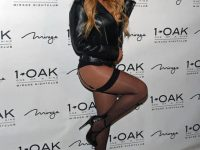 Mariah Carey: calze sopra ai collant