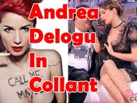 Andrea Delogu in collant: video compilation