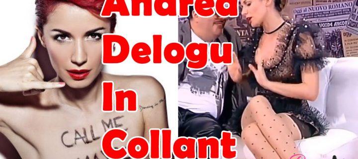 Andrea Delogu in collant: video compilation